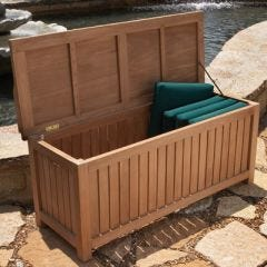 Teak Deck Box (Large)