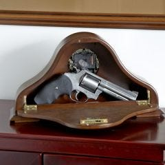 Mantel Clock Handgun Case