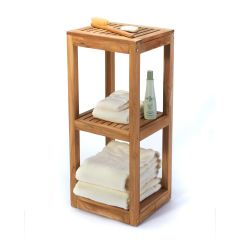 Deluxe Three-Tier Bathroom Shelf