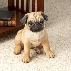 Pug Dog Statue