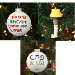 Christmas Story Ornaments (Set of 3)