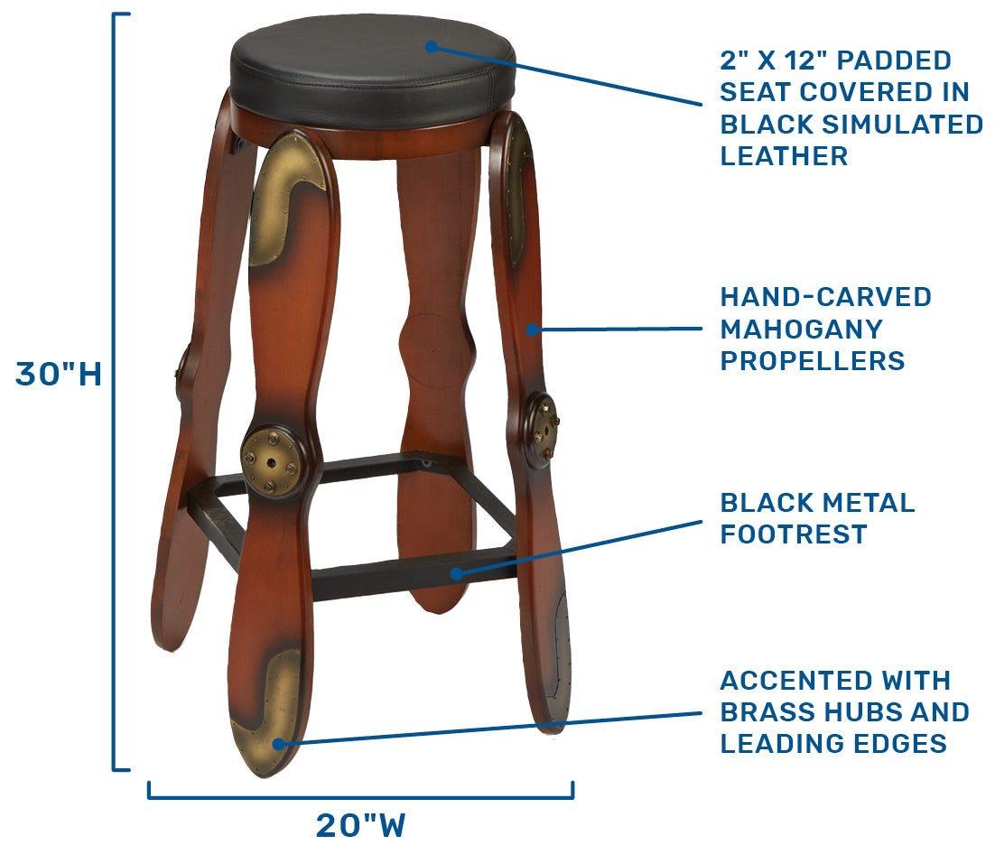 Bar stool specs
