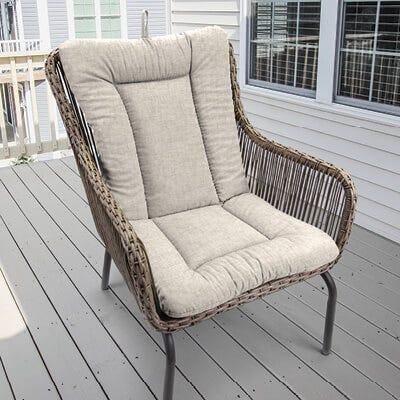 Plush Chair Cushion