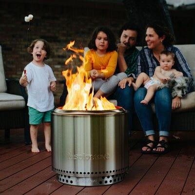 Stainless Steel Smokeless Bonfire