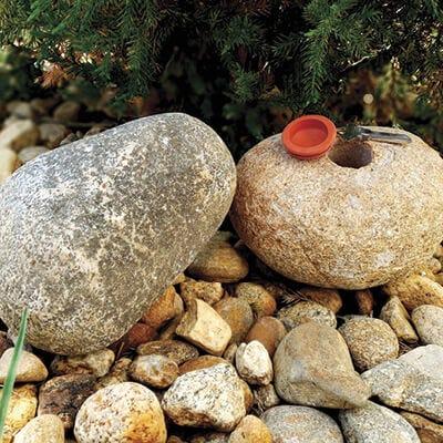 Key Hiding Stone